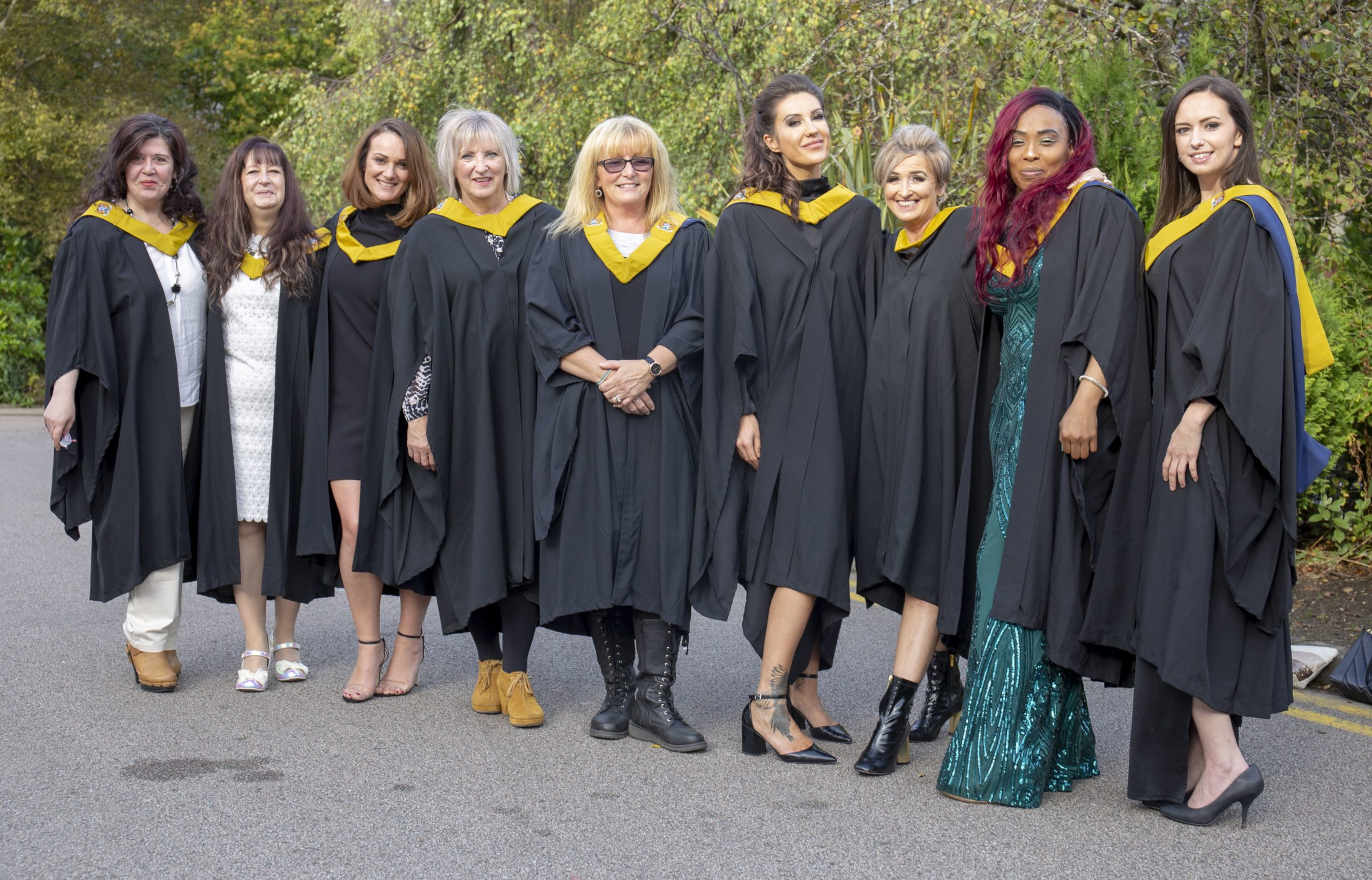 HNC Complementary Therapies graduates