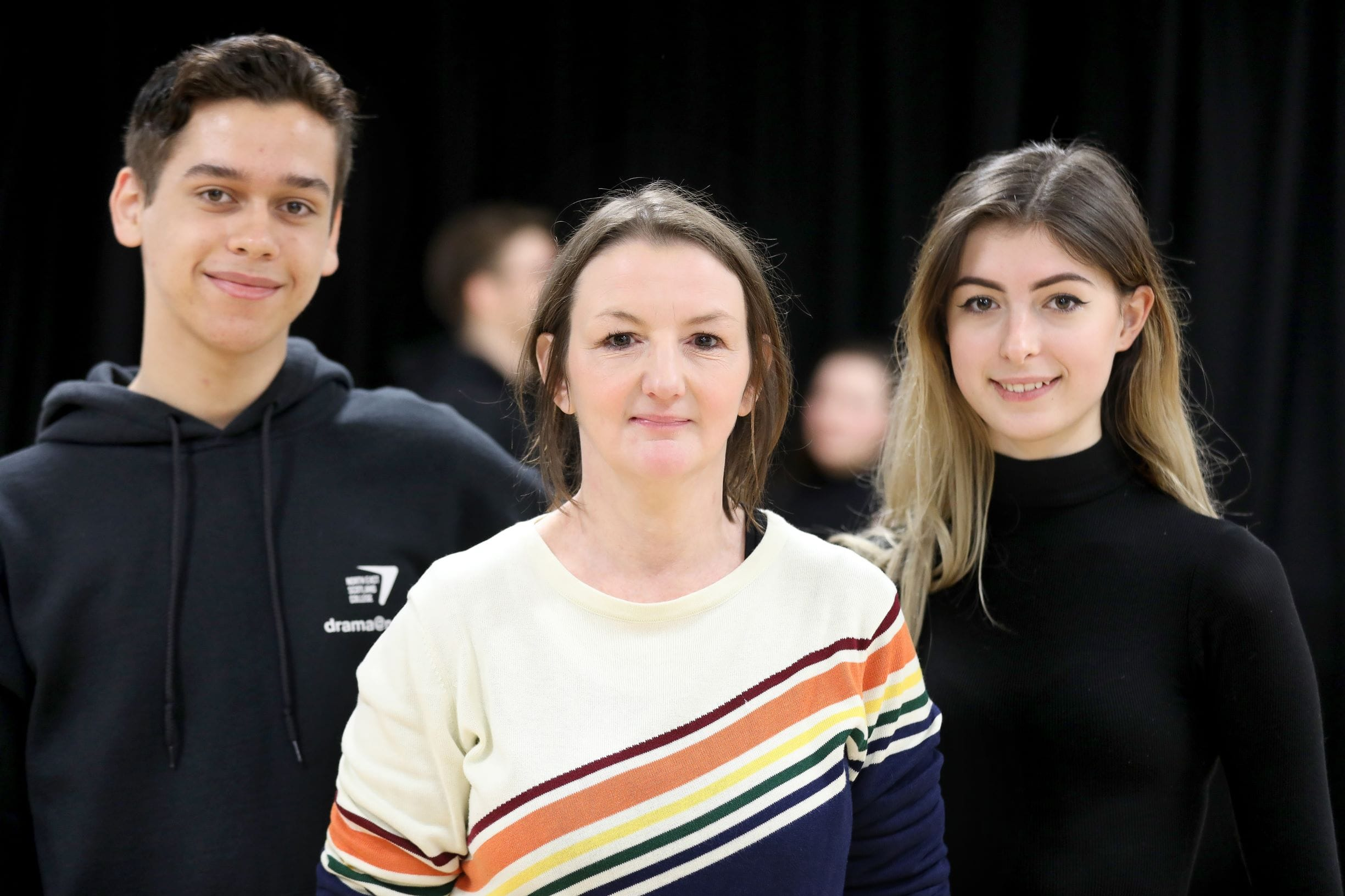 TV Actor puts Students Centre Stage