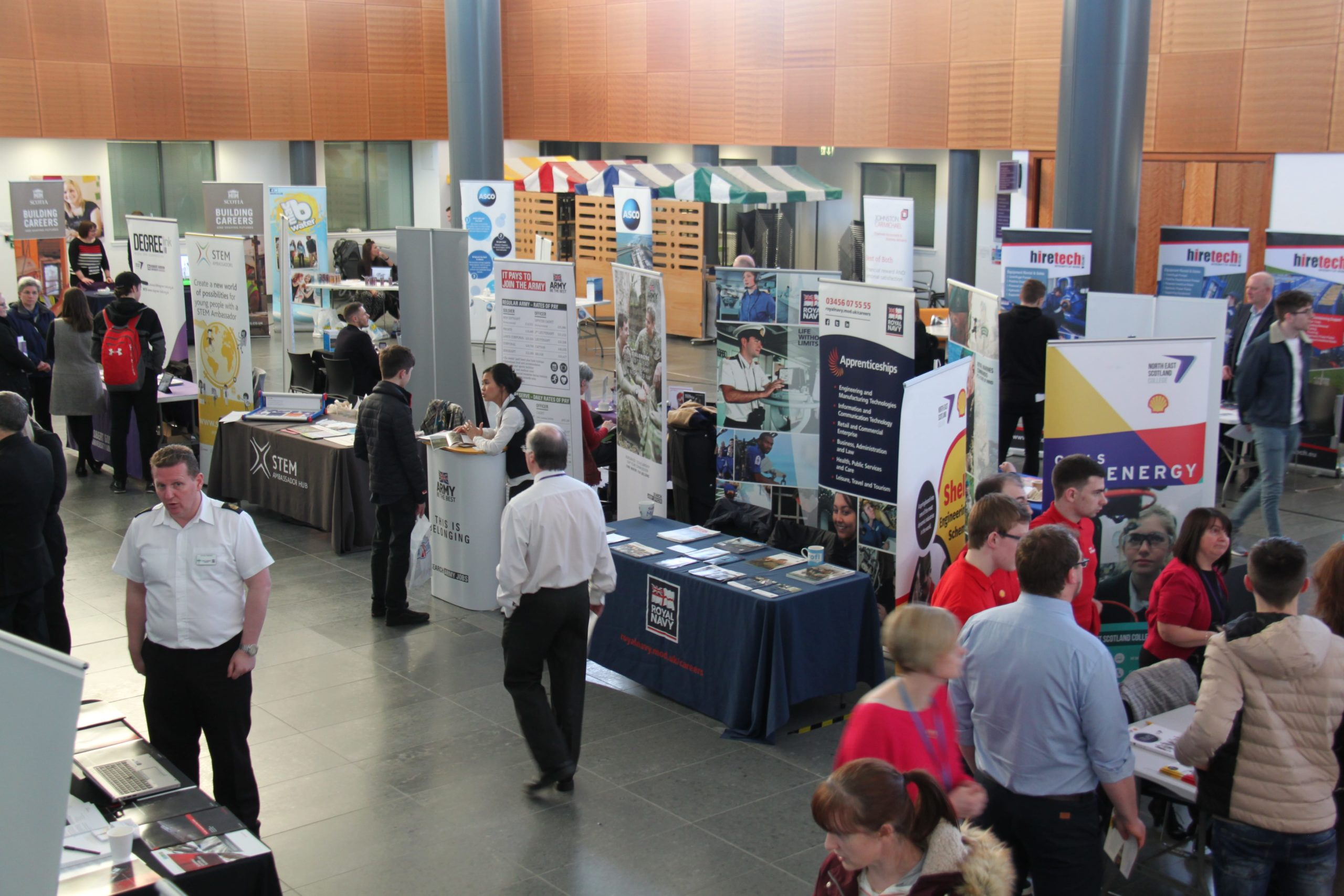 Fraserburgh Open Day and Careers Showcase