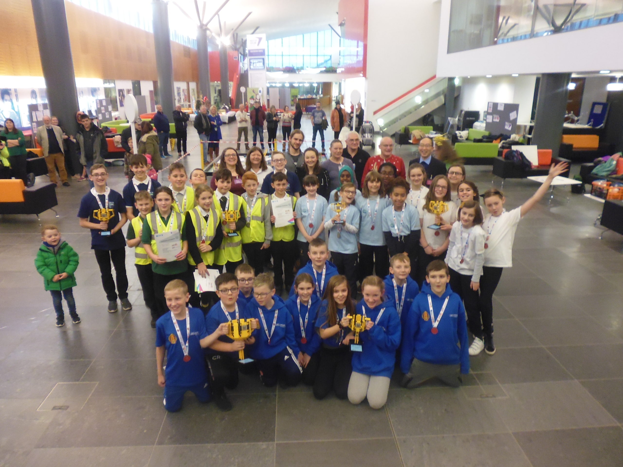 Everything is awesome with Lego competition at NESCol