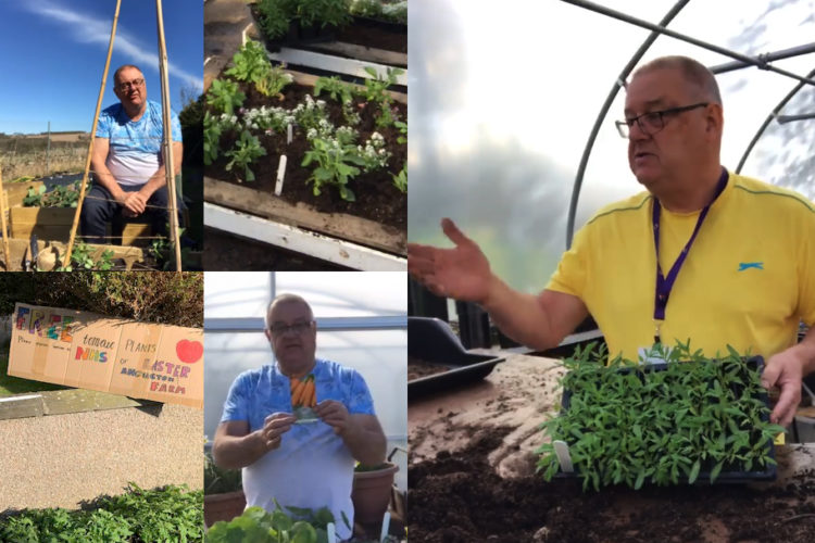 Martin sows seeds of kindness for charity