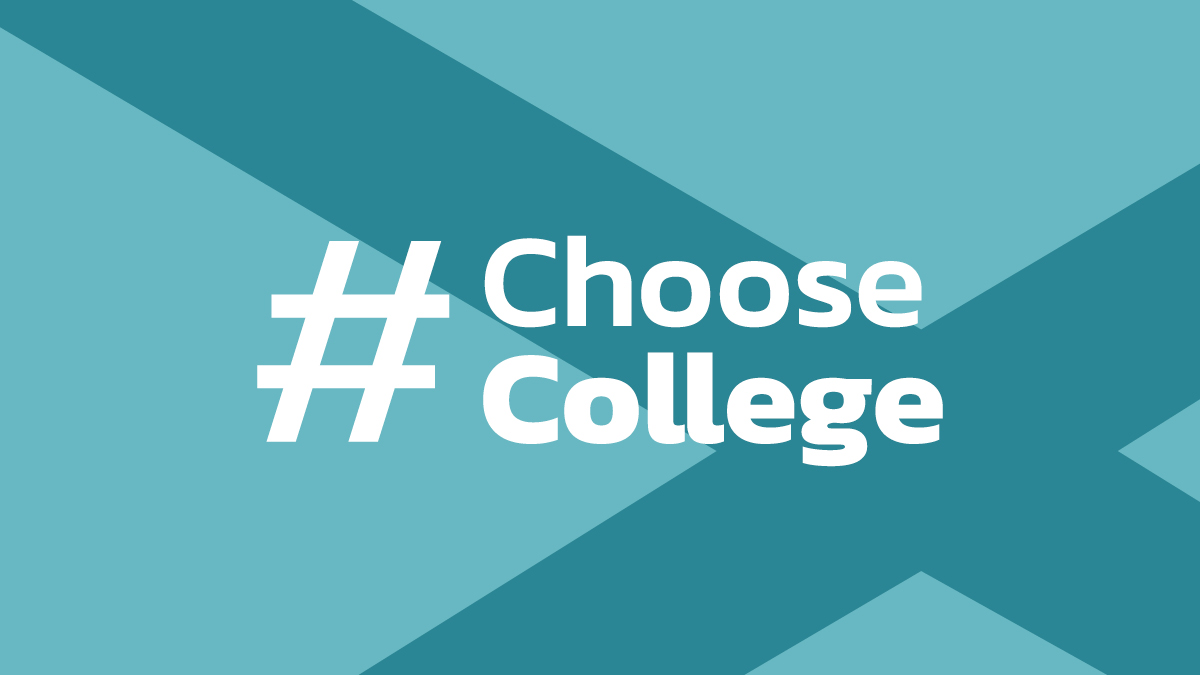 Scotland's colleges collaborate on new national #ChooseCollege campaign