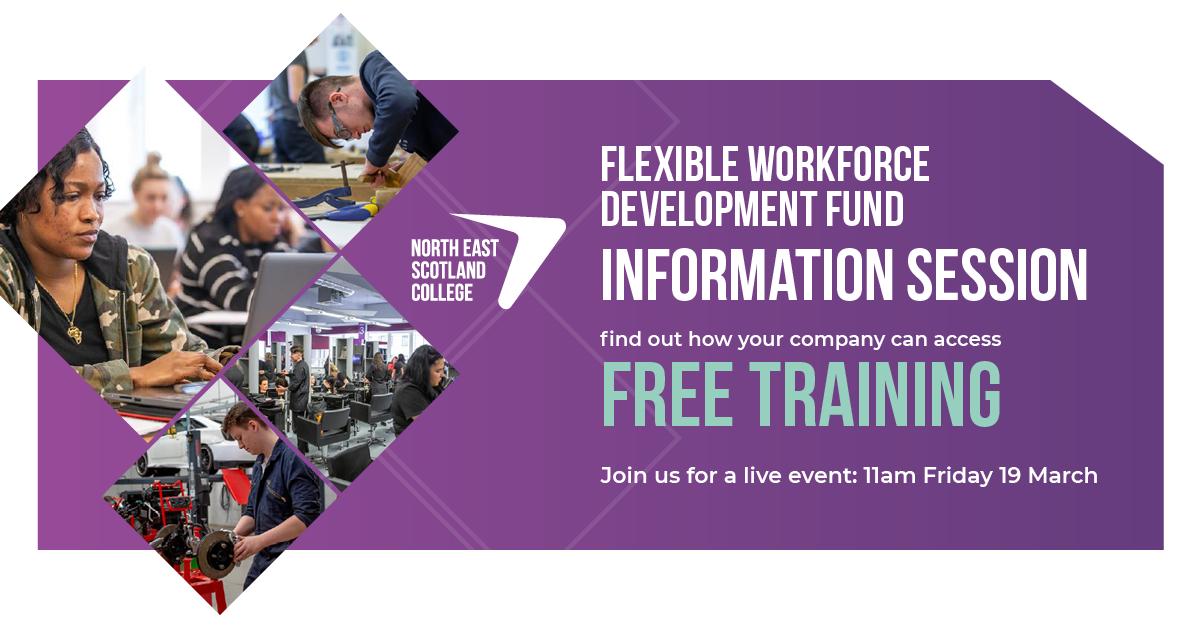 Flexible Workforce Development Fund Information Session for SMEs