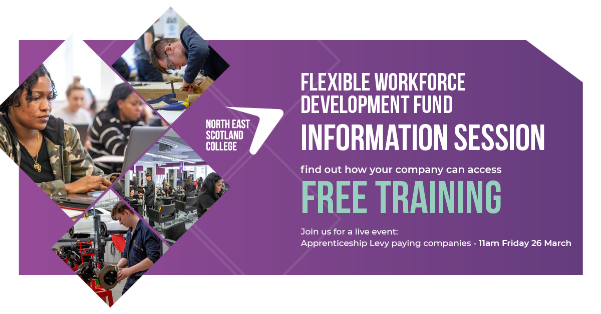 Flexible Workforce Development Fund Information Session for Apprenticeship Levy paying companies