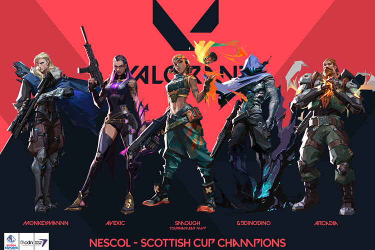 NESCol crowned CDN Esports Scottish Cup champions