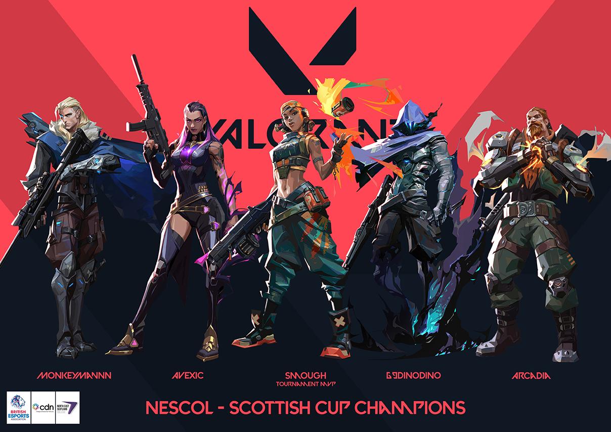 NESCol crowned CDN Esports Scottish Cup champions