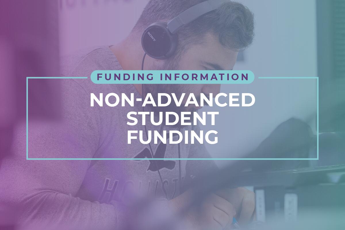 Non-Advanced Student Funding
