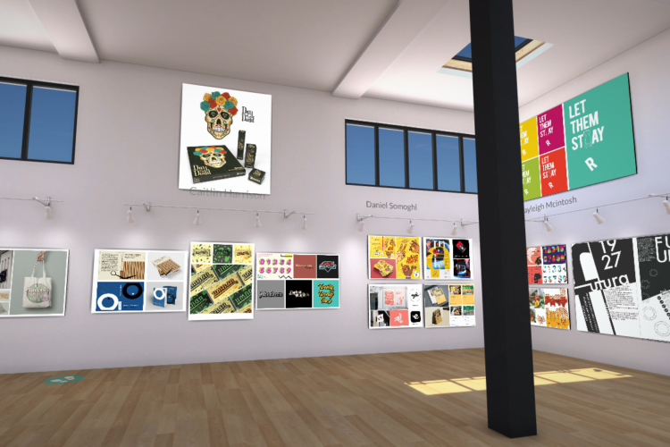 HND Visual Communication End of Year Exhibition