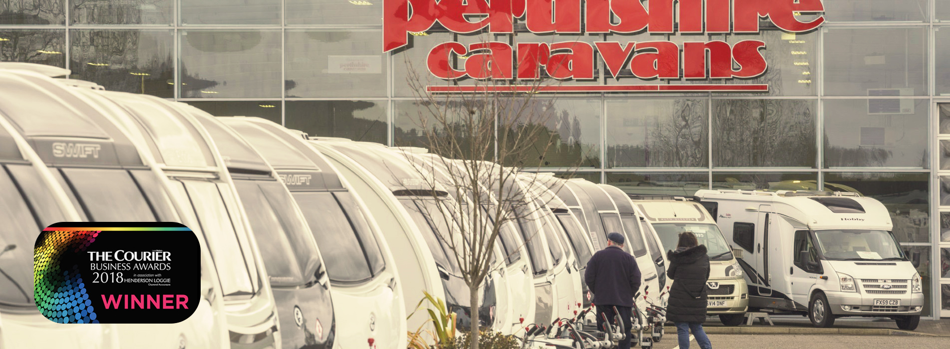 Pethshire Caravans Showroom
