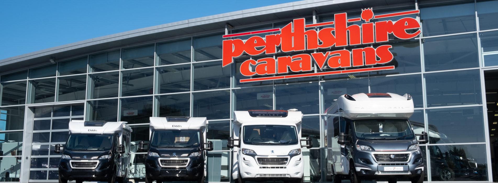 Perthshire Caravans....Pic Paul Reid