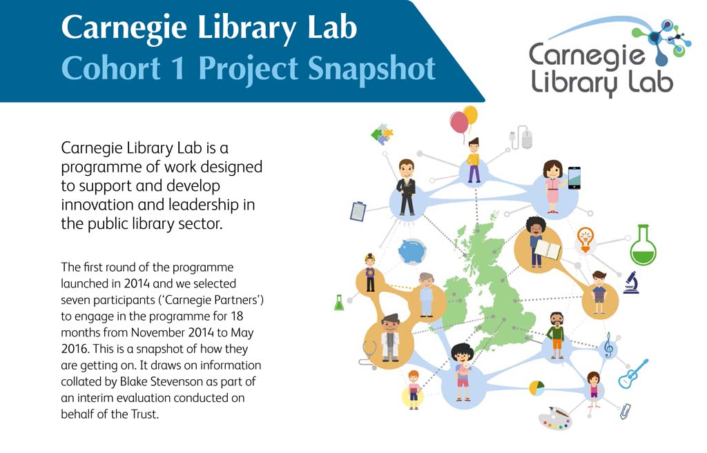 Carnegie Library Lab Cohort 1: Project Snapshot