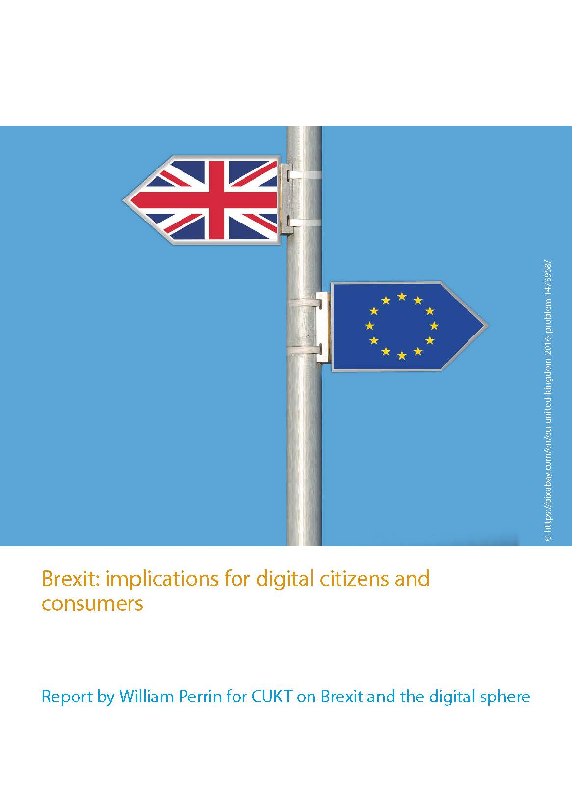 Brexit: Implications for Digital Citizens and Consumers
