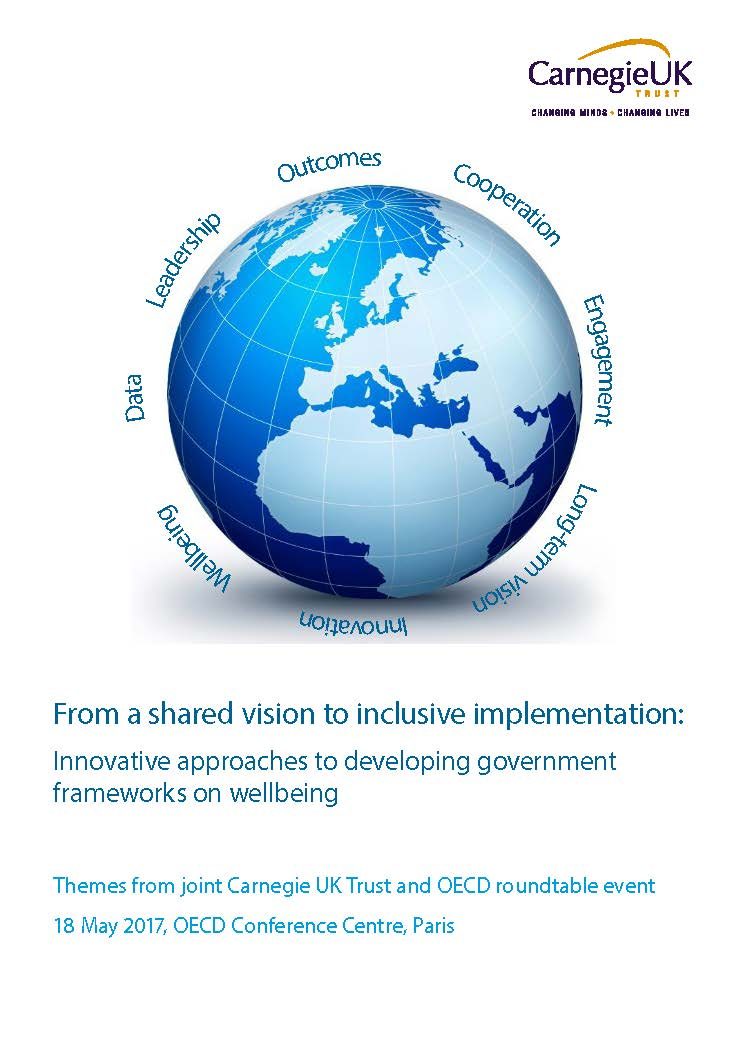 From a shared vision to inclusive implementation: Innovation approaches to developing government frameworks on wellbeing