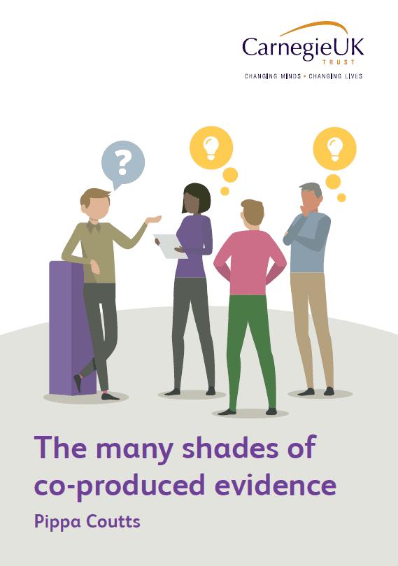 The many shades of co-produced evidence