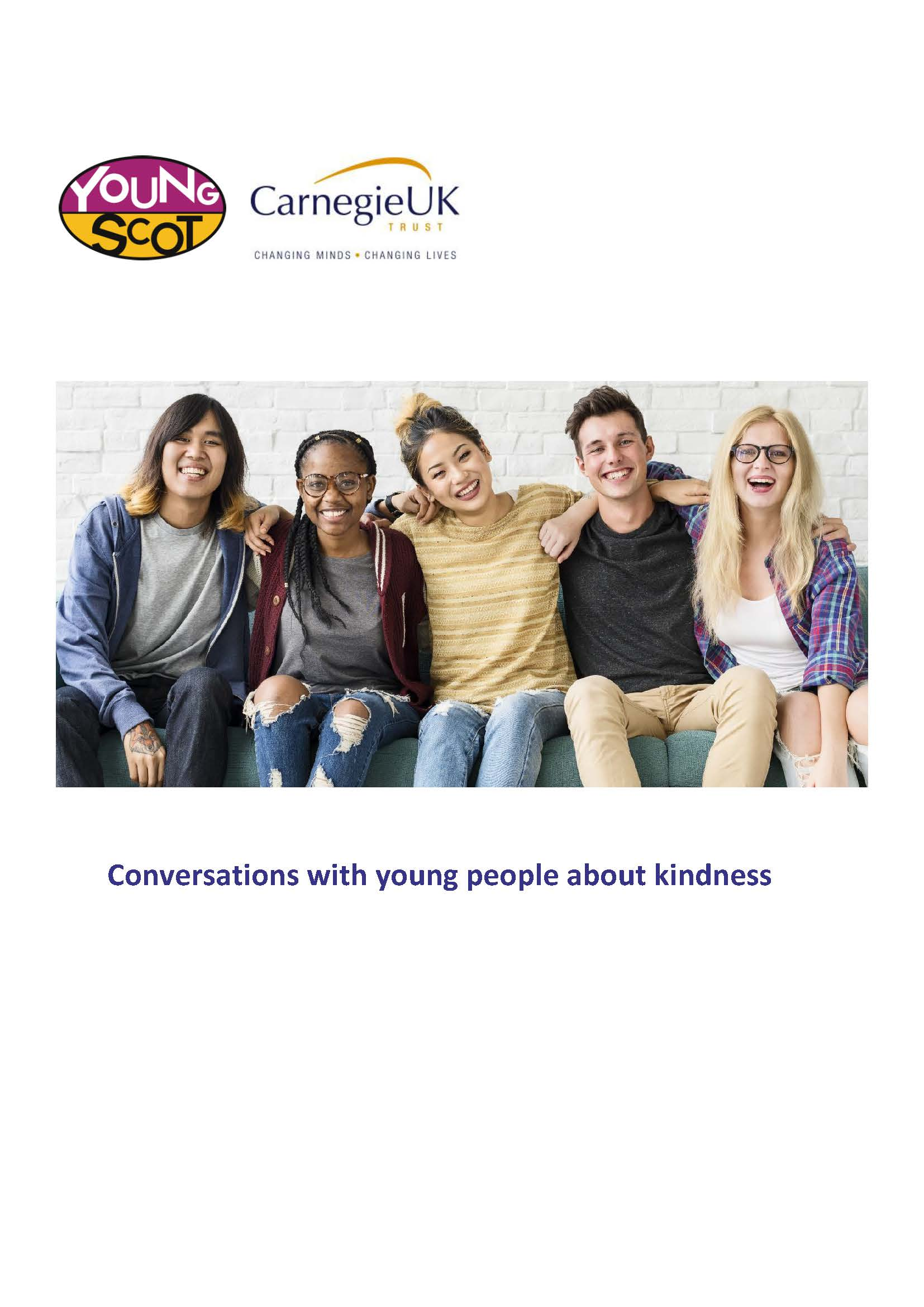 Conversations with young people about kindness