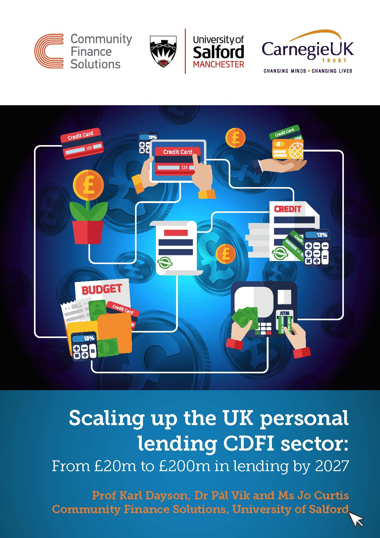 Scaling up the UK personal lending CDFI sector: From £20m to £200m in lending by 2027
