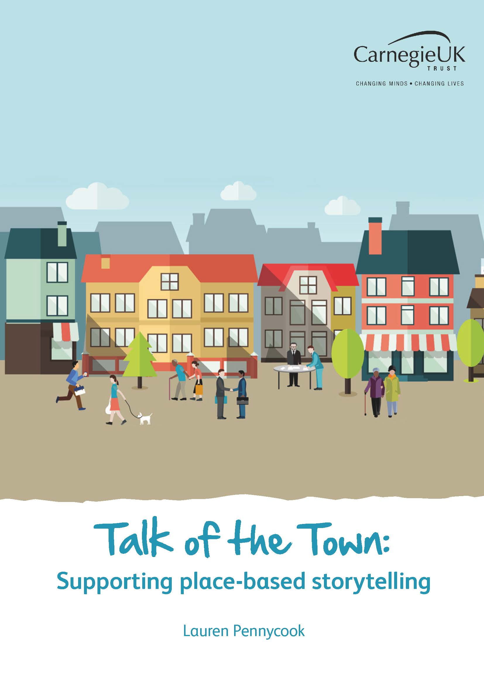 Talk of the Town: Supporting place based storytelling