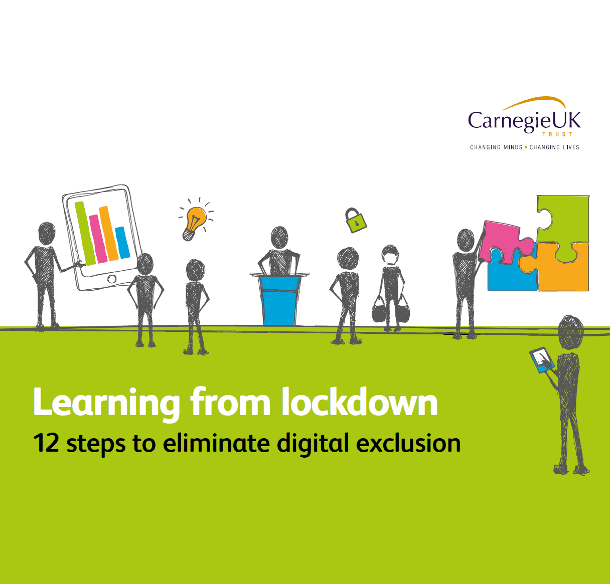 Learning from Lockdown: 12 Steps to Eliminate Digital Exclusion