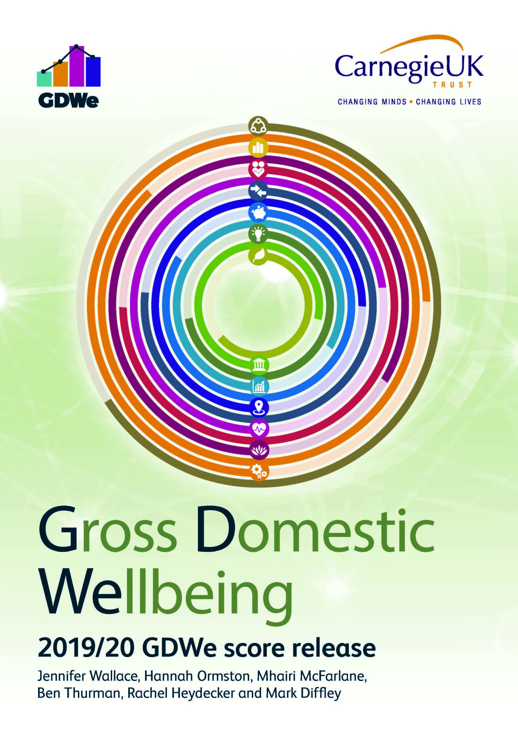 Gross Domestic Wellbeing (GDWe): 2019/20 release