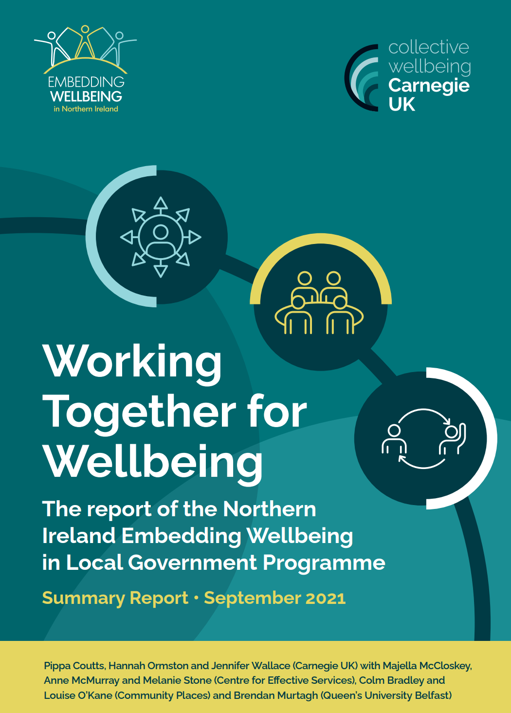Working Together for Wellbeing: The report of the Northern Ireland Embedding Wellbeing in Local Government Programme (Summary Report)