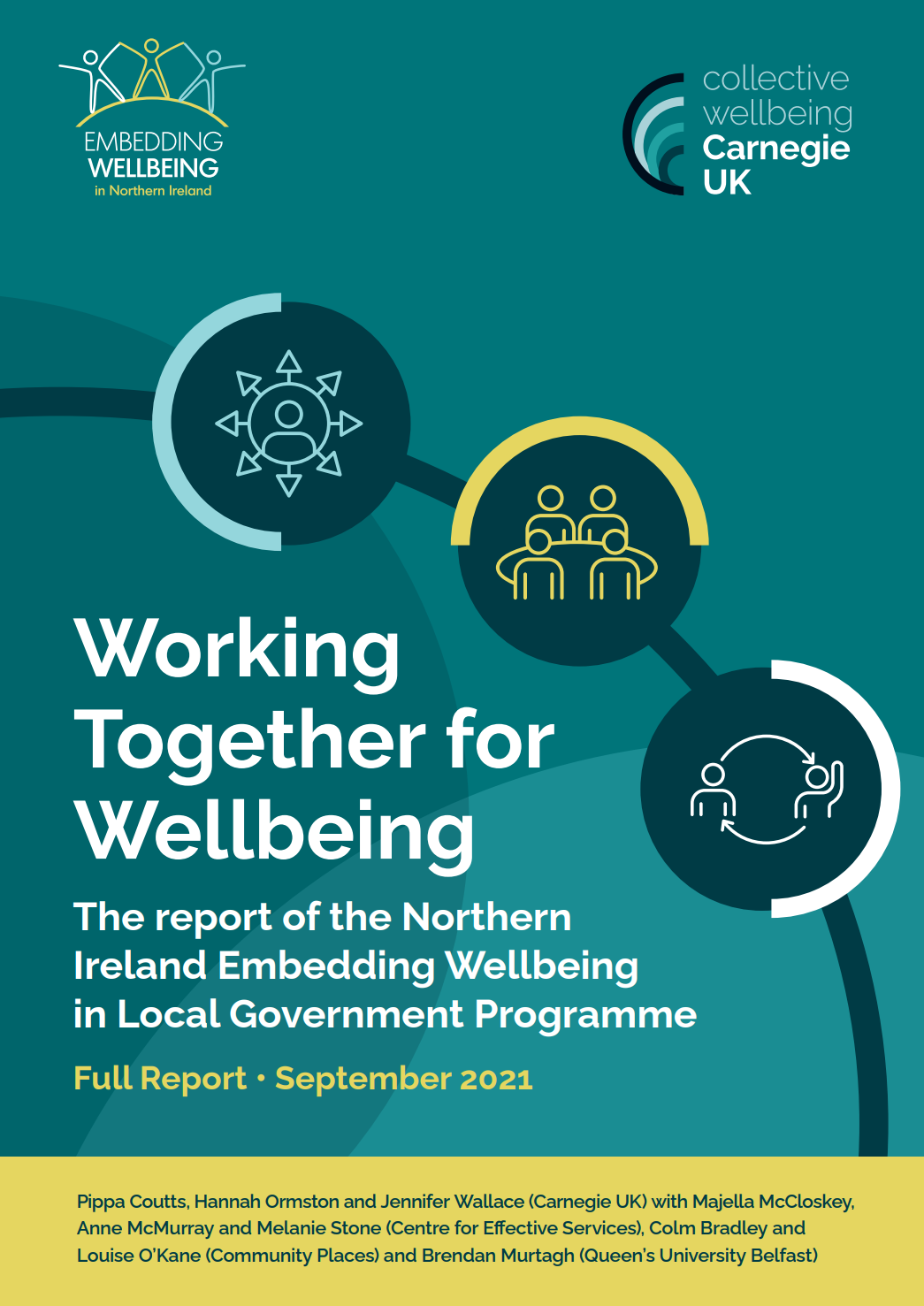 Working Together for Wellbeing: The report of the Northern Ireland Embedding Wellbeing in Local Government Programme (Full Report)