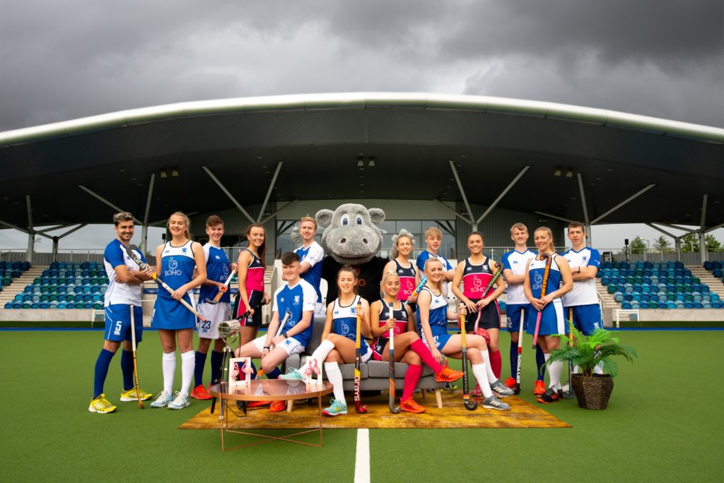 BOHO is the new official sponsor of Scotland's national hockey teams.