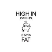 Low fat, high protein