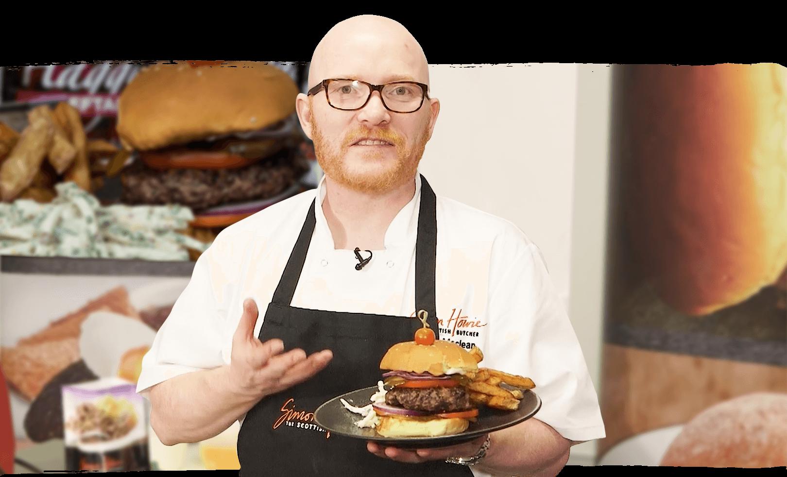 Gary Maclean's Haggis Burger