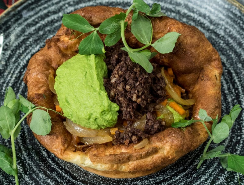 Gary Maclean's Haggis Yorkshire Pudding