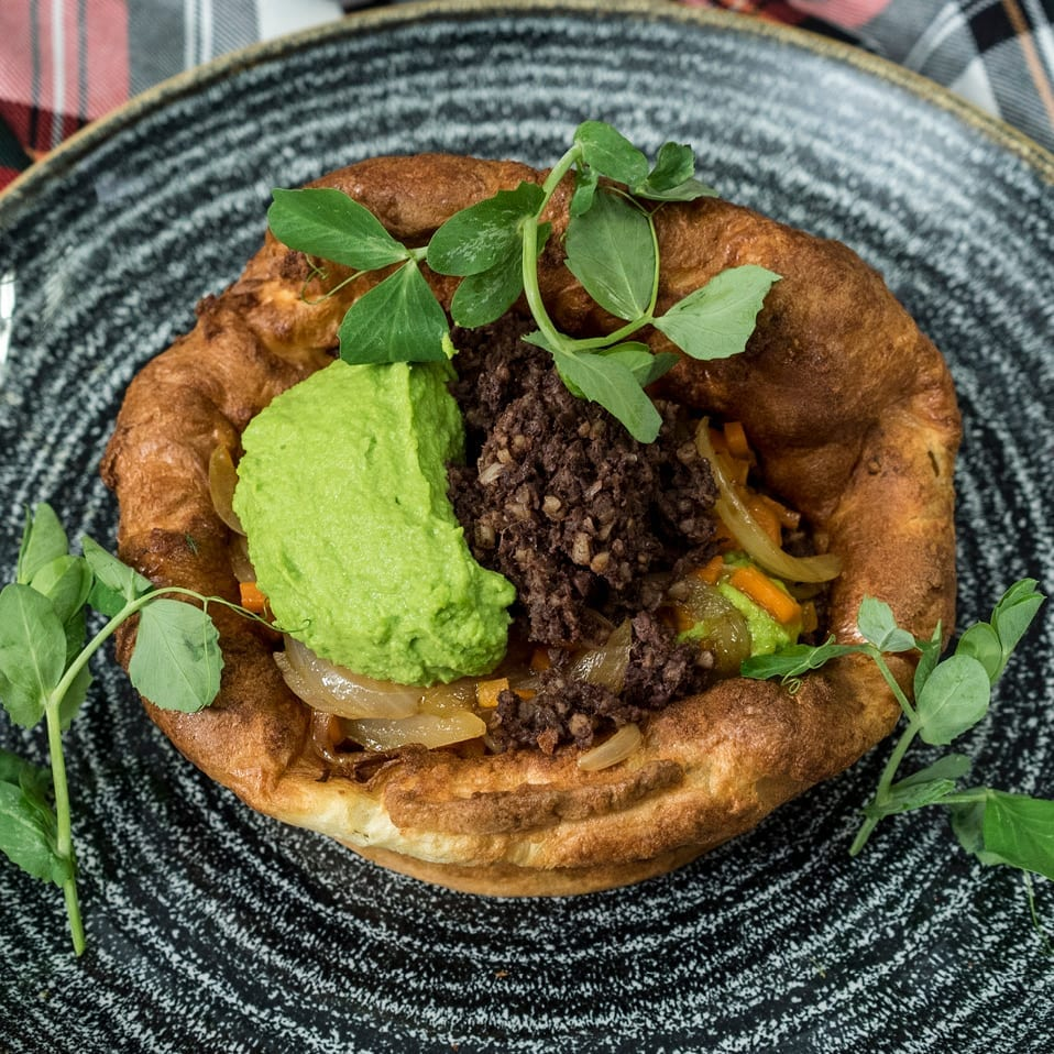 Yorkshire Pudding For 2 >> Gary Maclean S Haggis Yorkshire Pudding