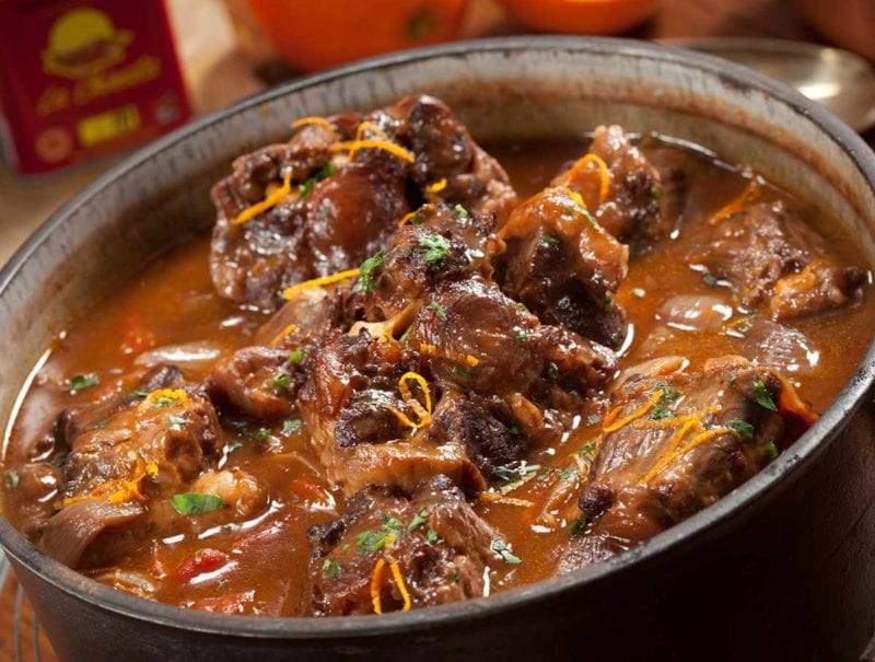 Spanish style Oxtail Stew