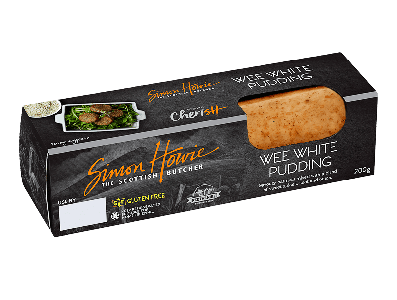 Simon Howie Wee White Pudding