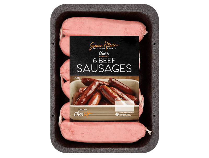 Beef Sausages 200G