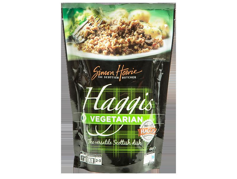 Simon Howie vegetarian haggis