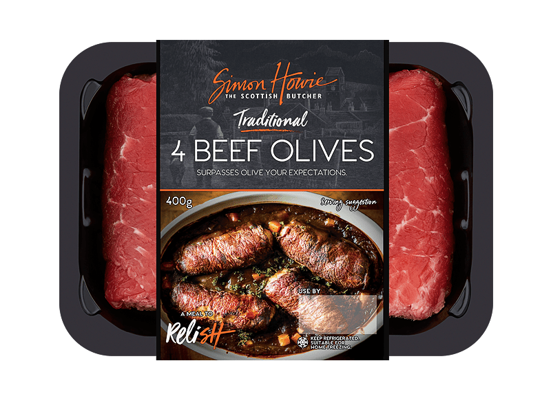 4 Traditional Beef Olives 400g