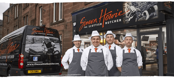 Perth Simon Howie butcher shop and team