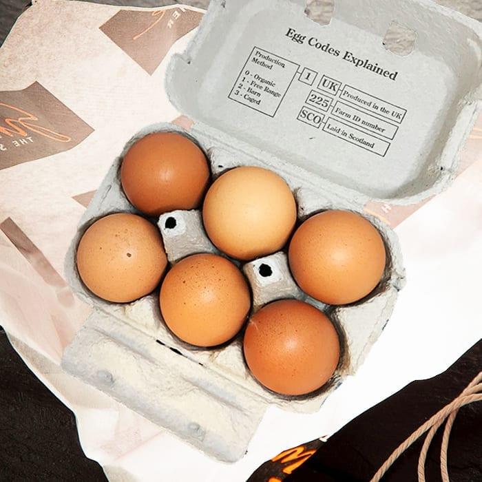 6 Free-Range Eggs