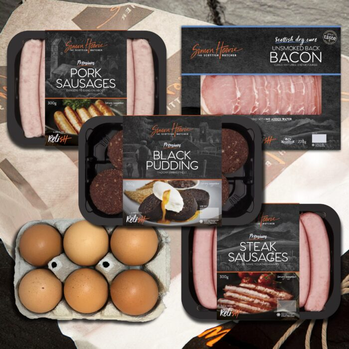 Great ~Scottish Breakfast Pack (Unsmoked Bacon)