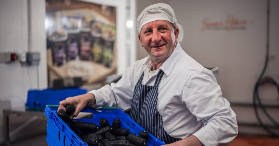 Wee Black Pudding in the factory