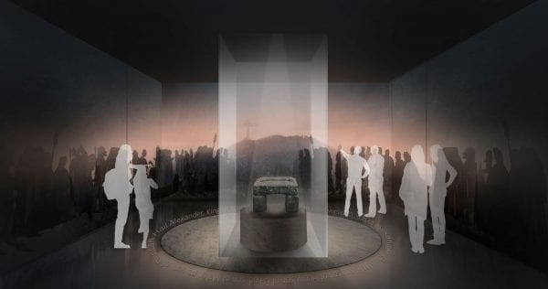 Proposed Stone of Destiny Exhibit