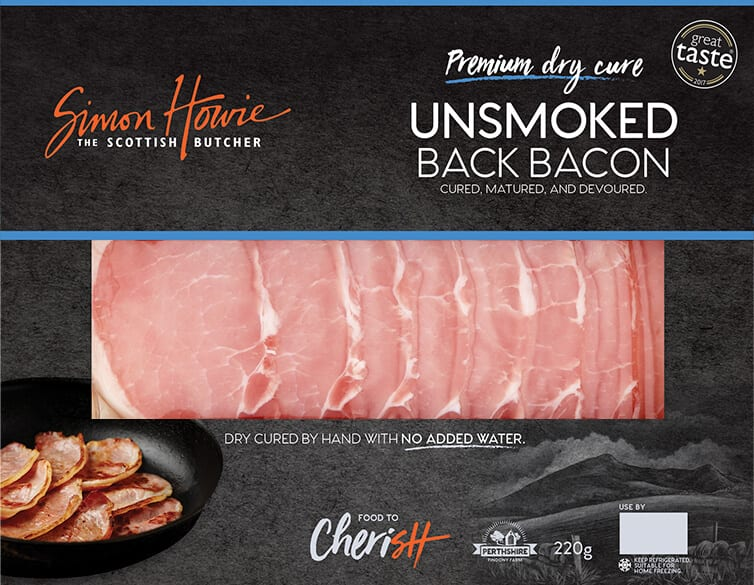 Simon Howie Unsmoked Bacon