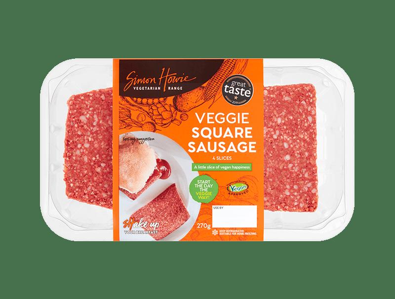 Vegetarian Square Sausage 270g