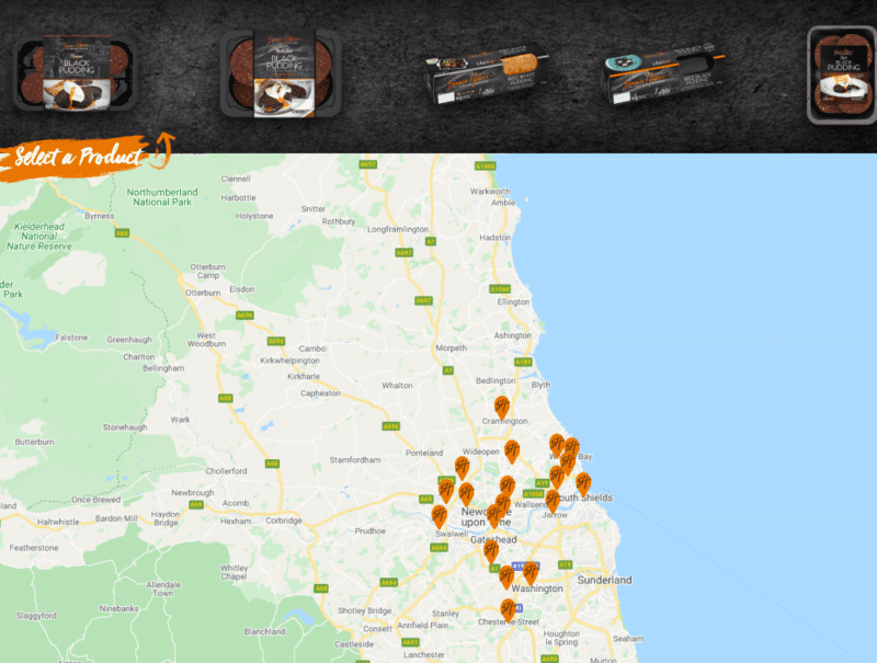 New and improved stockist finder!