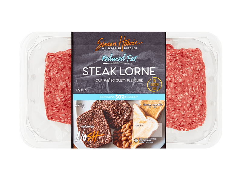 Reduced Fat Steak Lorne