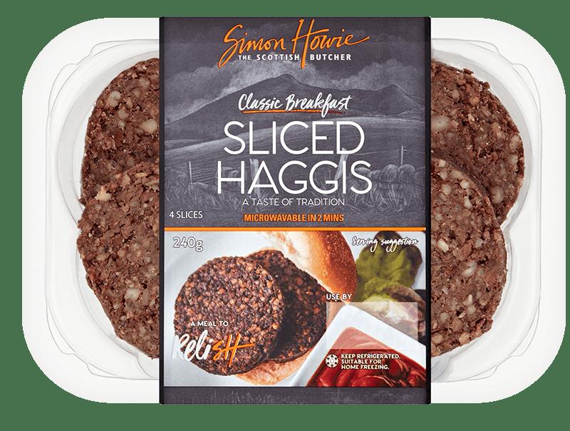 Classic Breakfast Sliced Haggis 240g