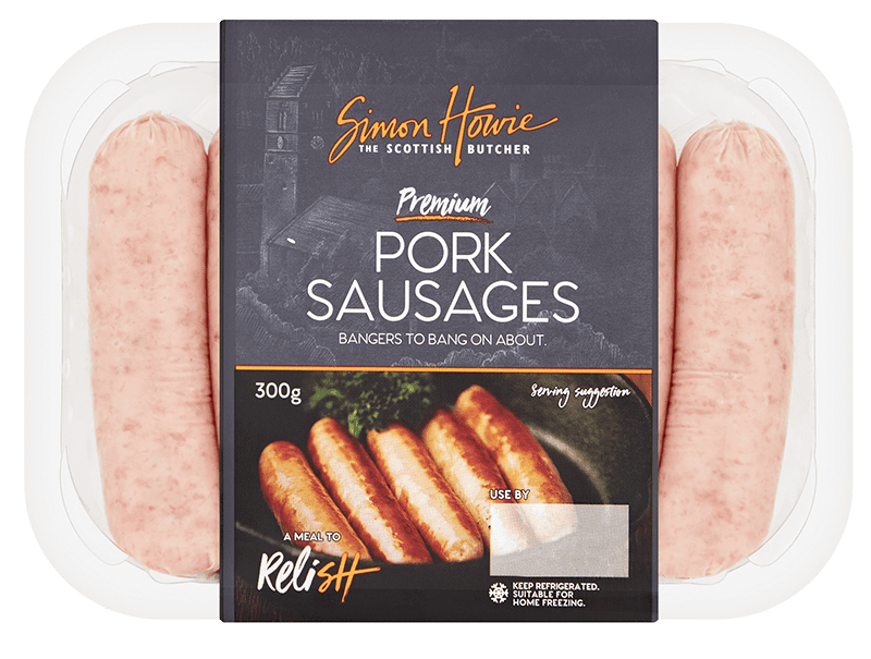 Premium Pork Sausages 300g