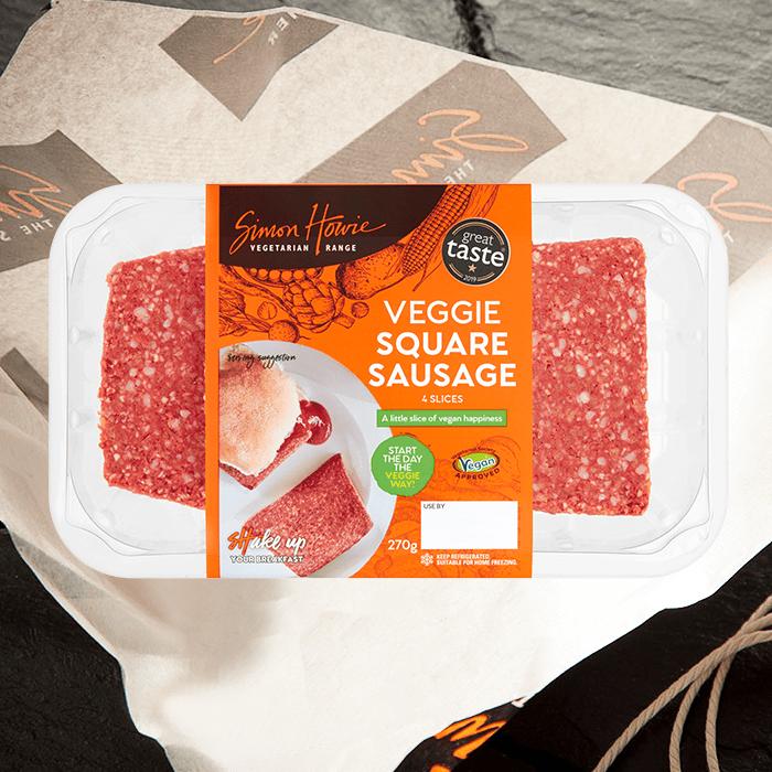 Veggie Square Sausage C&C