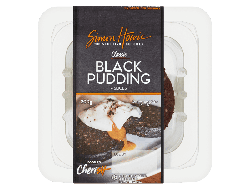 Sliced Black Pudding 200g