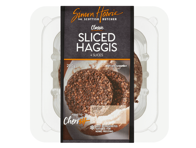 Sliced Haggis