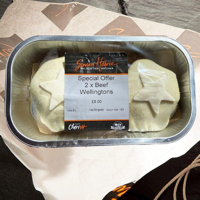 2 Beef Wellingtons